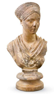 Bust of a Young Lady Contemporary of Hadrian