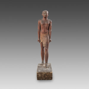 Egyptian Wooden Figure : Phoenix Ancient Art